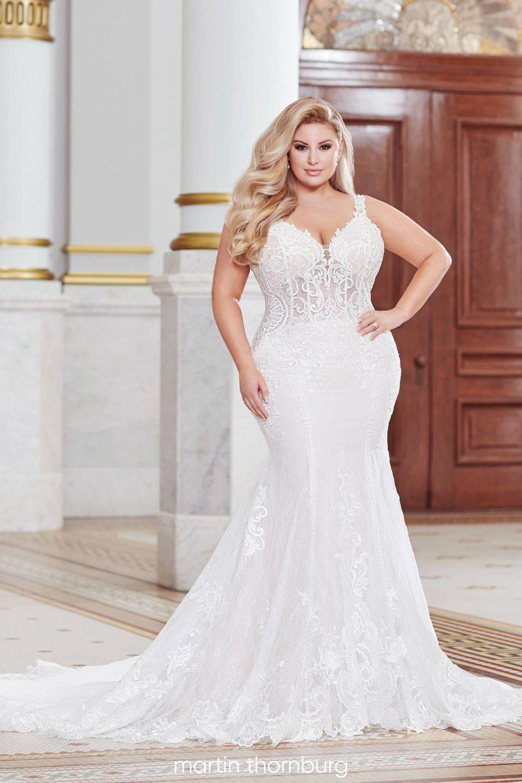 plus size sexy wedding dress