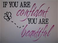 IF YOU ARE CONFIDENT YOU (NEW) ARE BEAUTIFUL 2-COLOR