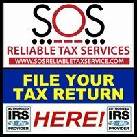 SOS RELIABLE TAX SERVICE OFFICES
