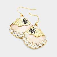 earrings, jewelry, mother of pearl