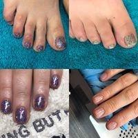 twinkle toes bury, glitter nails bury, xmas nails bury