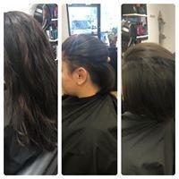 Haircut, under cut, salon