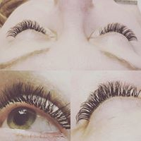 Russian volume lashes in Marlow