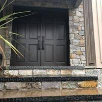stairways, real stone, masonry