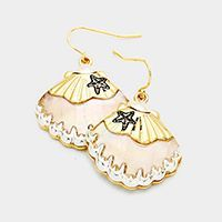 earrings, jewelry, mother of pearl