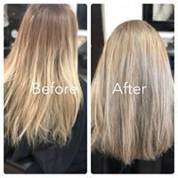 Balayage, platinum, color, lightner