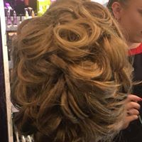 up-do, prom