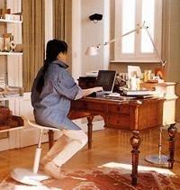 Sgabello con seduta Attiva modello OIbo'