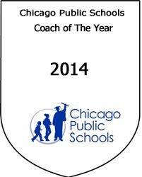 Coach Romel Bryant a Chicago Public School Coach of the Year