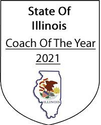 Coach Bryant is a Coach of The Year for the State of Illinois