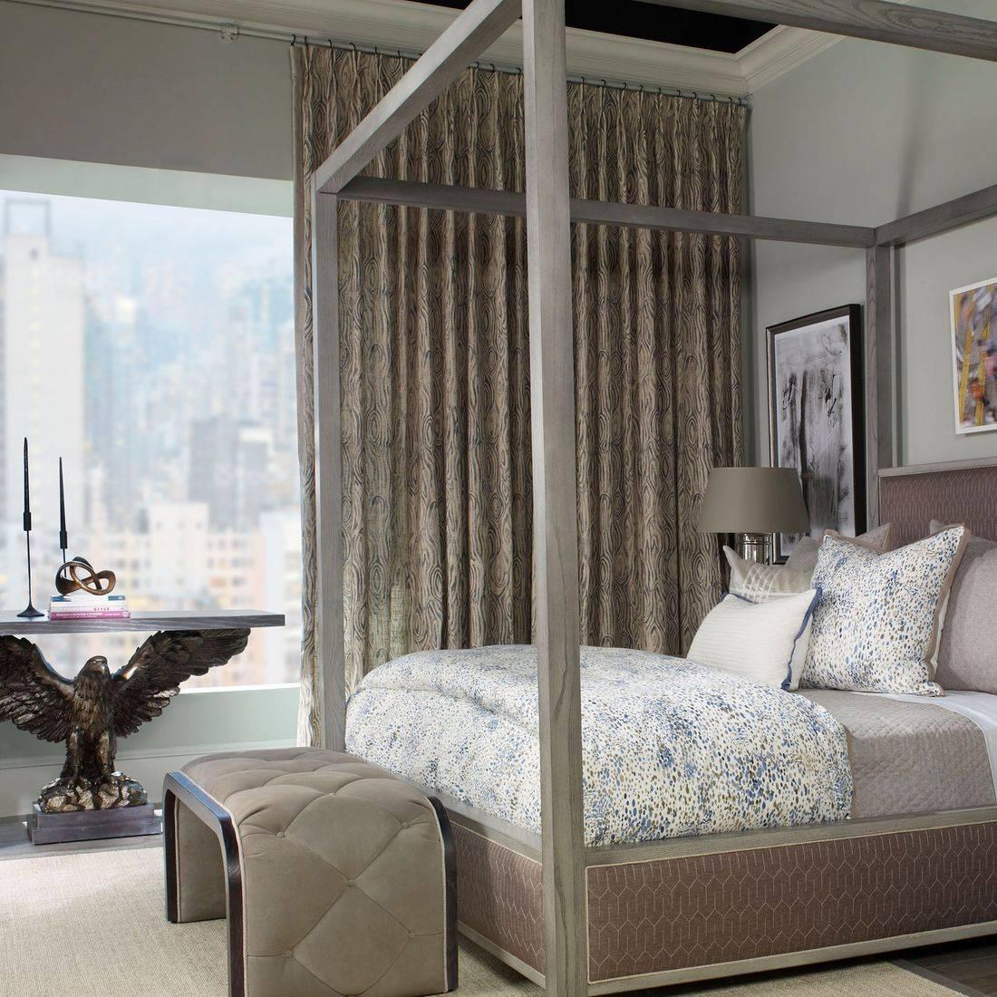 bedroom draperies ideas