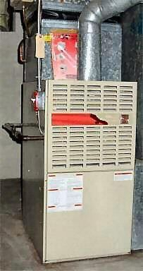 GAS HOT AIR FURNACE for home heating j downs plumbing llc