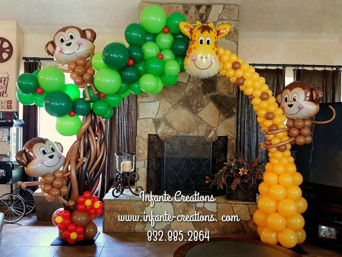 Custom Logo, Corporate Event, Balloons, Custom Balloons, Houston, TX, Logo