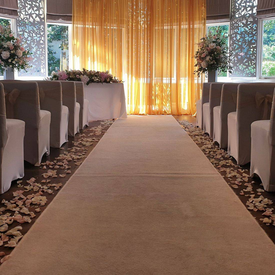 Wedding ceremony at the Green House Hotel Bournemouth