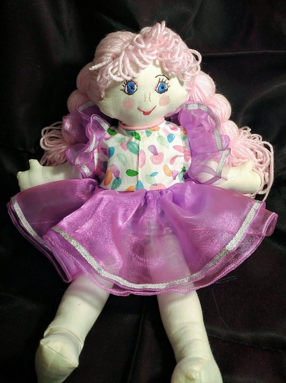 Rag dolls, baby doll, vintage doll, soft doll, 1st baby doll