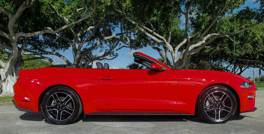 Ford Mustang for rent. Miami Rental Car company.
