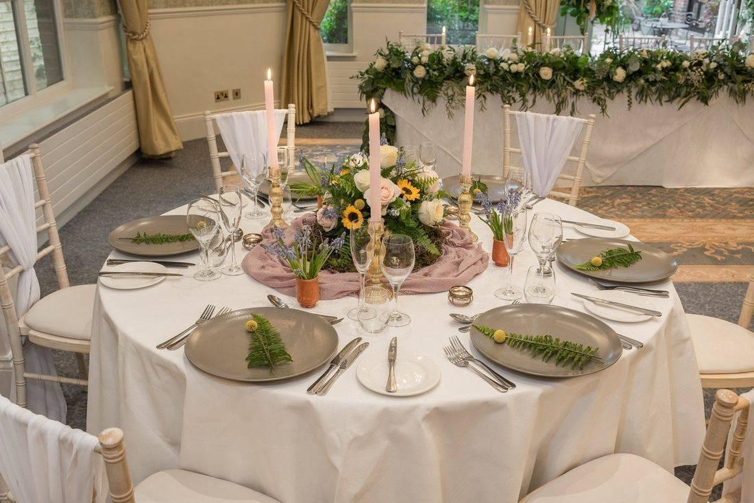 Wedding Venue Stylist at Careys Manor Hampshire