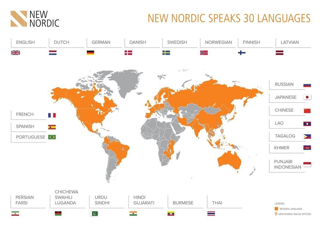 british & far east traders & partners, new nordic corporate profile