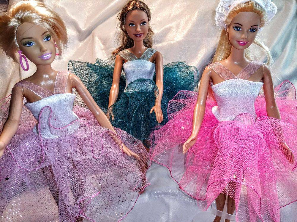 Barbie Tutu, Barbie Ballerina, Barbie Clothes, Fashion Doll clothes