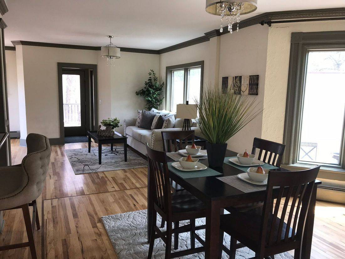 Transforming spaces - we fit any space any budget  Fix and Flip Home Staging® - real estate investment Home Staging®