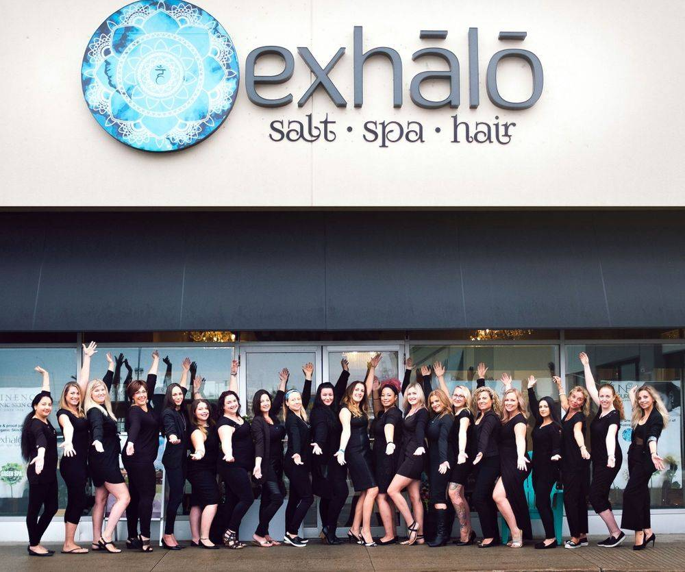 Best spa in Ottawa, where to buy eminence skincare in ottawa, exhalo spa, shop eminence organics, shop eminence skincare, by locally made
