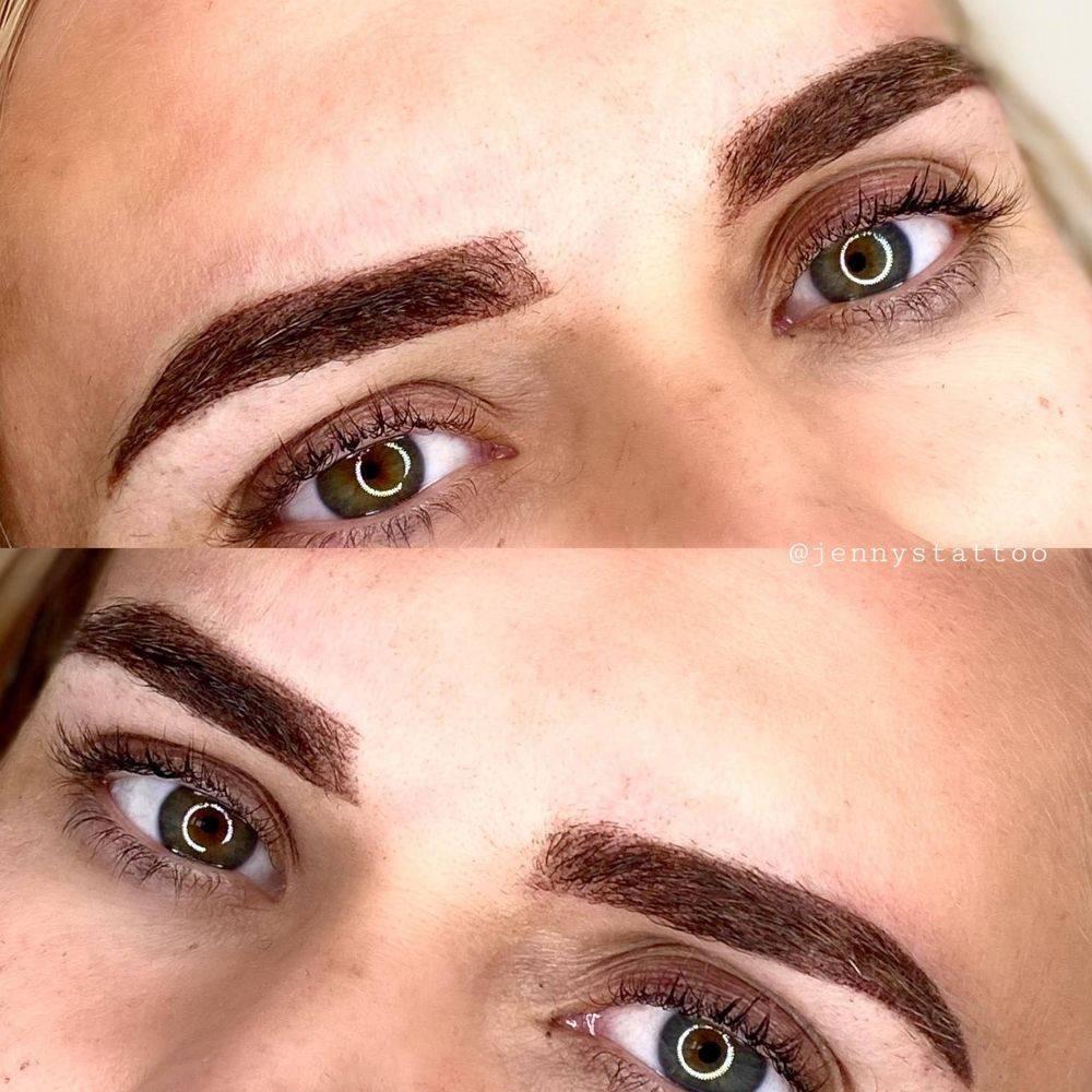 Microblading Tattoo Eyebrows