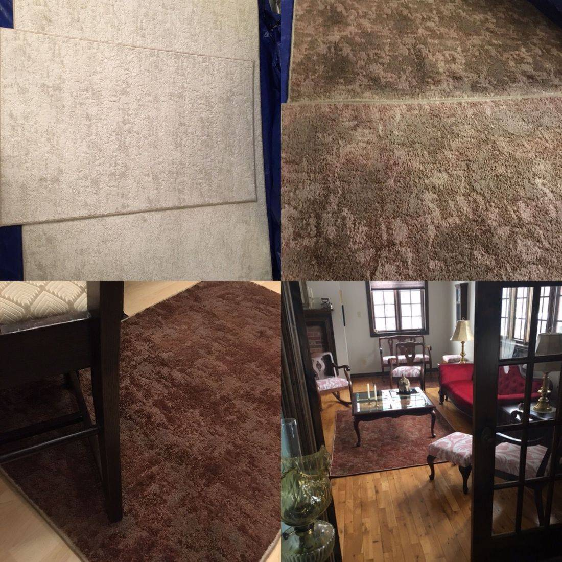 Custom Colour Carpets & Rugs, Carpet Dyeing, Wool Rug, Fluorescent Colour Change