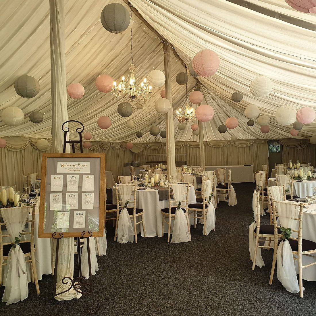 Marquee wedding at The Old Vicarage in Honton Admiral Christchurch Dorset