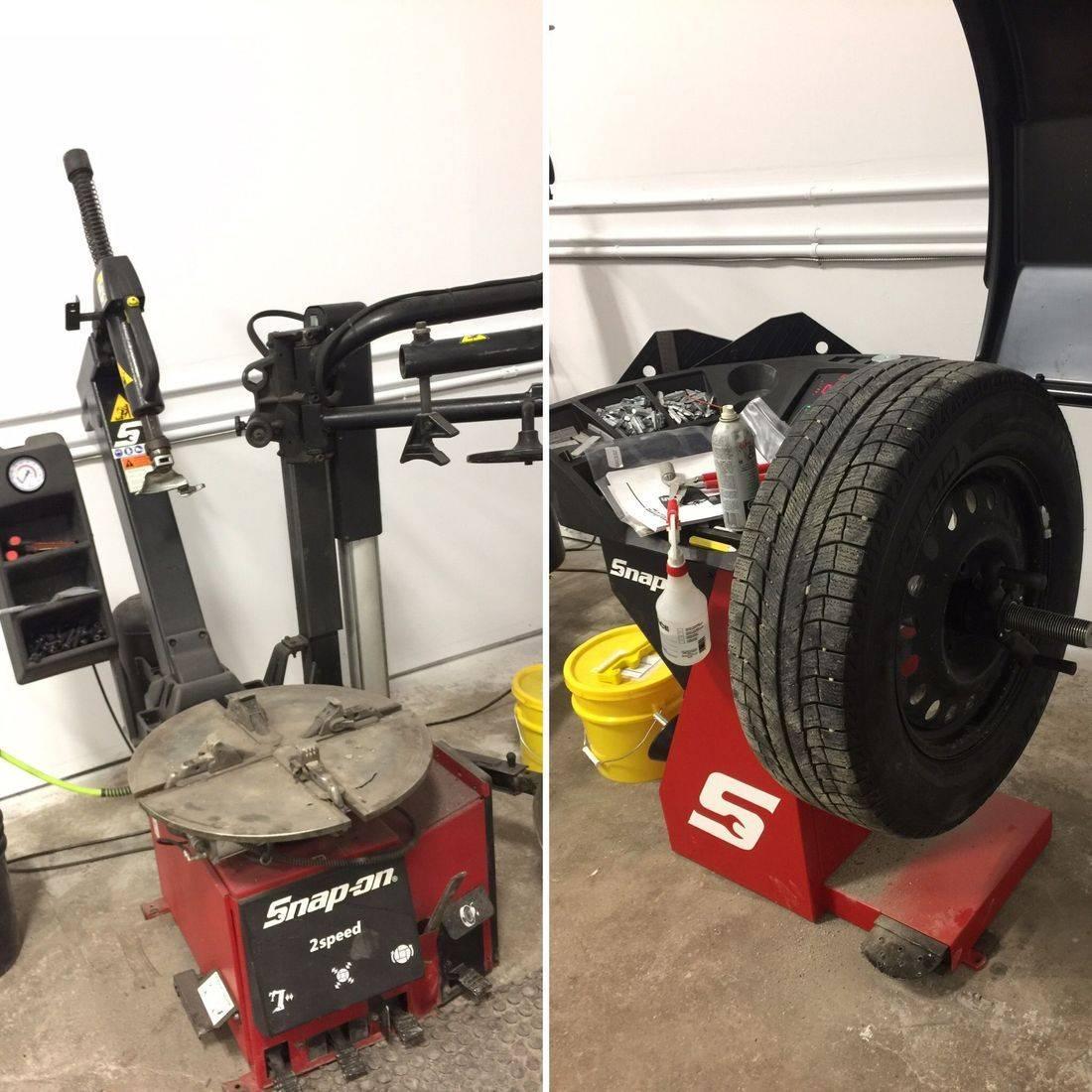 Tire Changer and Wheel Balancer