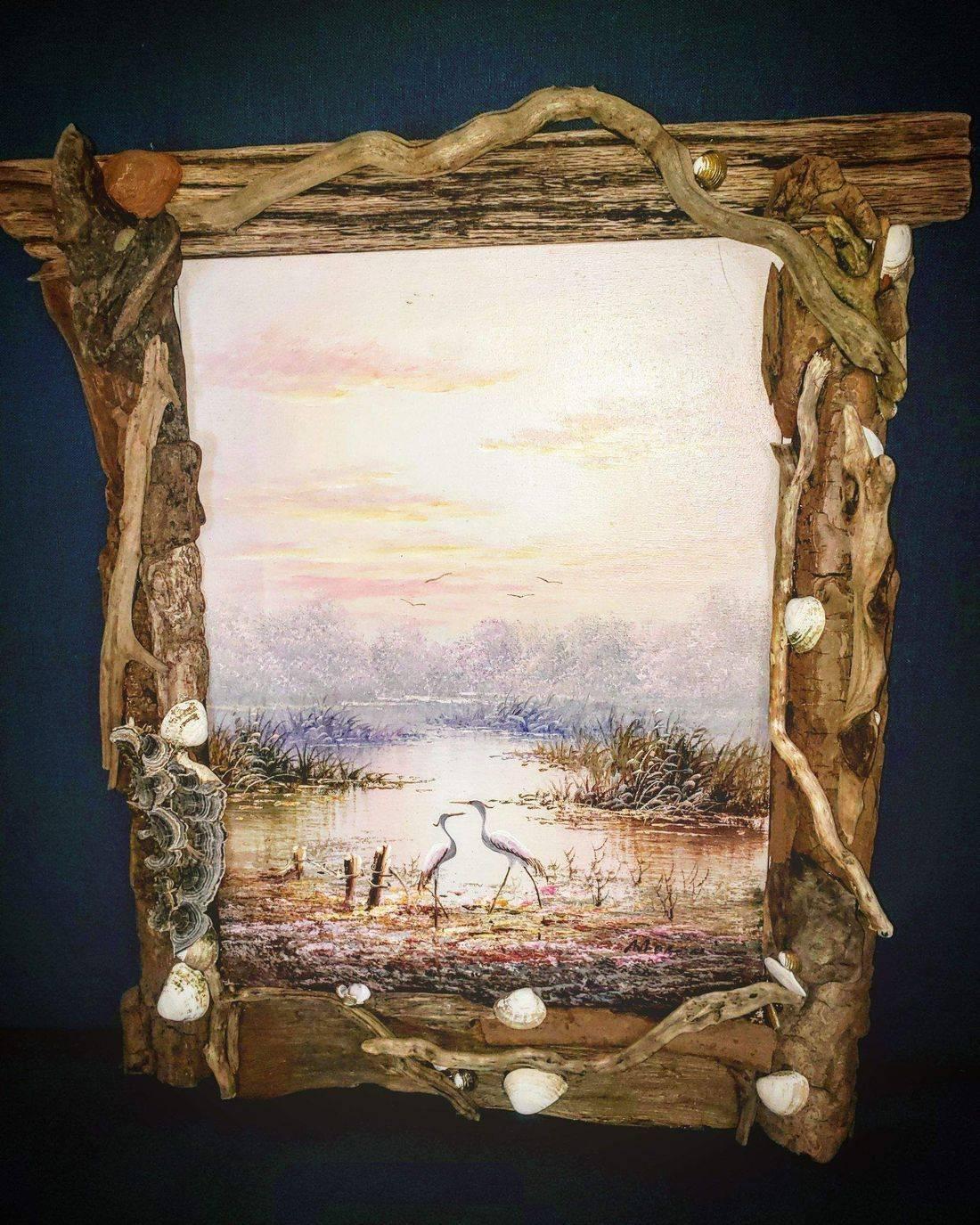 Driftwood frames