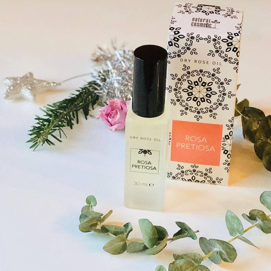 rose oil, rose face oil, clean beauty, green skincare, organic skincare