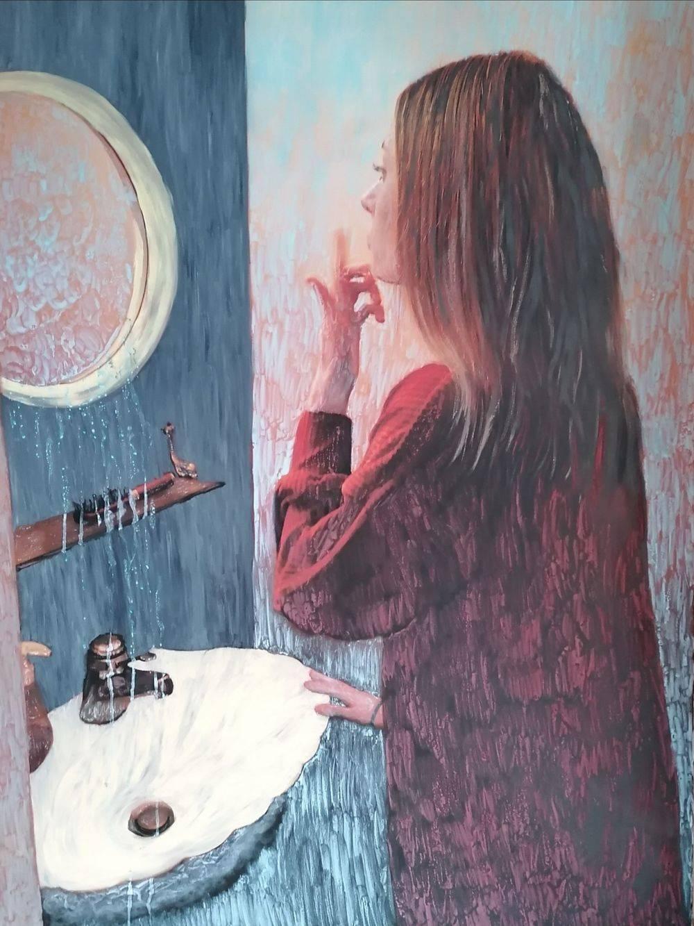 Aquarelle, Peinture à l'huile, Pierre-Auguste Renoir, Femme, Portrait, Histoire de l'art
