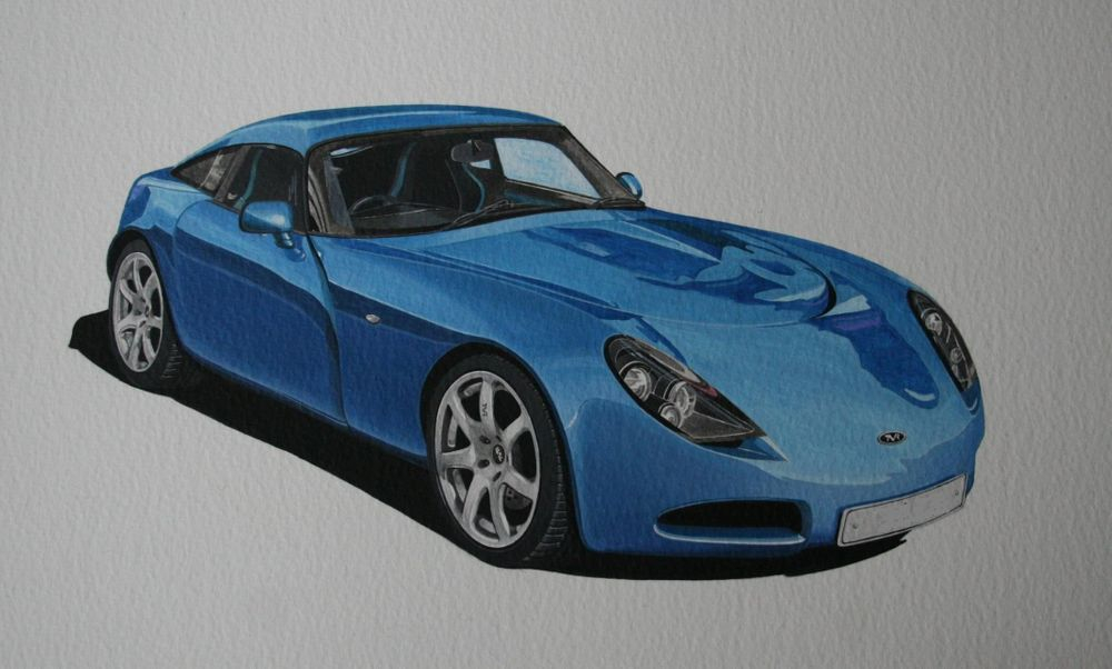 TVR 350 (Acrylic) : Commission (UK)