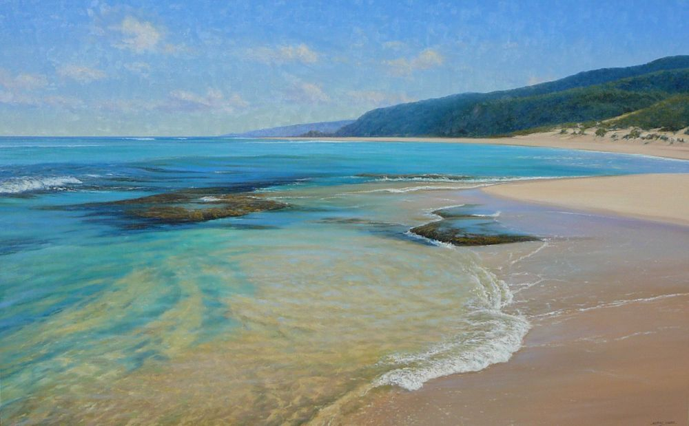 Yallingup Beach D'Arcy Doyle 2019 Landscape Art Award Oil Painting