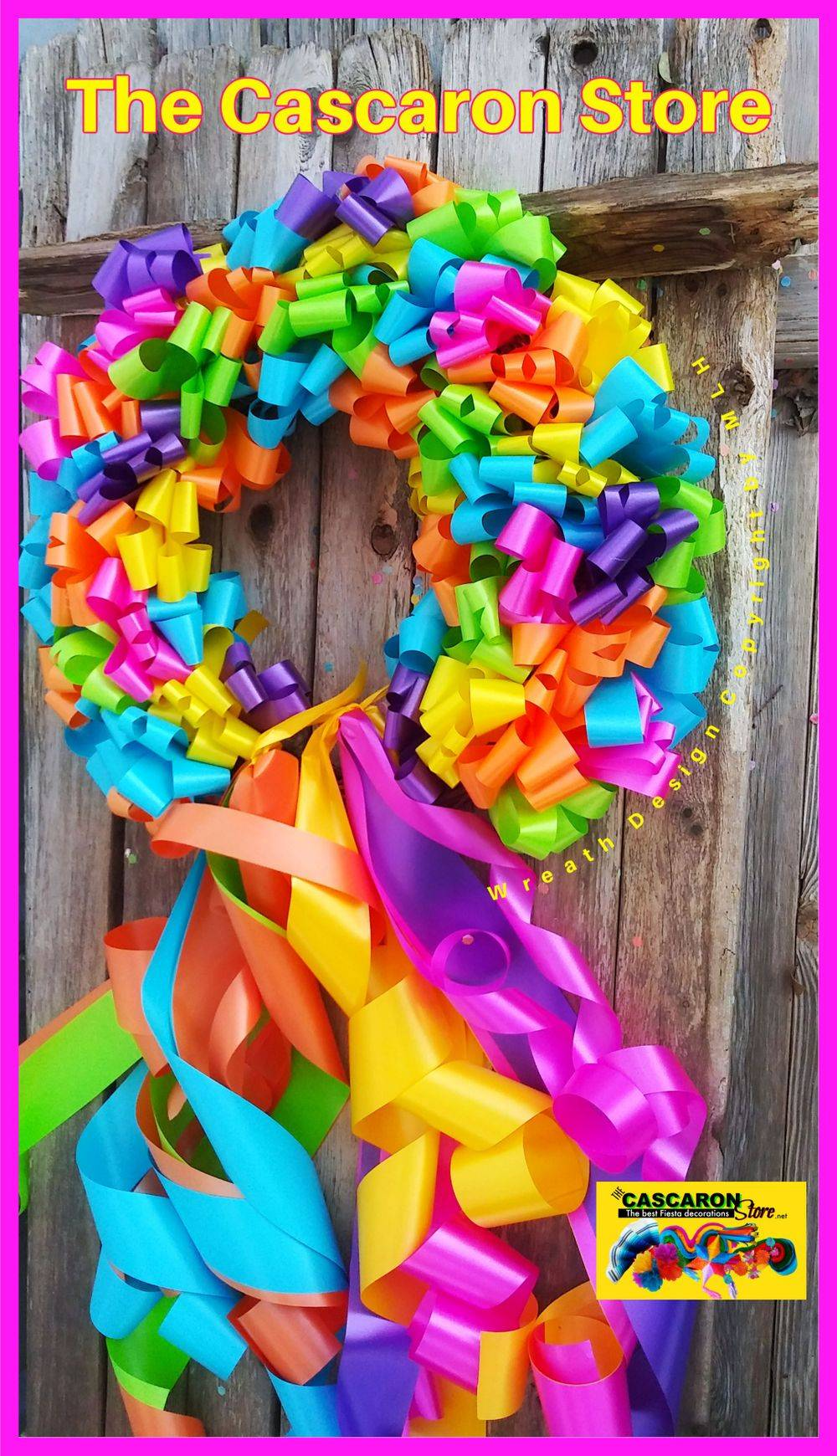 Party  Colorful Wreath