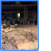 Barn junk removal