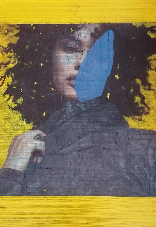 Aquarelle, Femme, Jaune,Histoire de l'art, Portrait