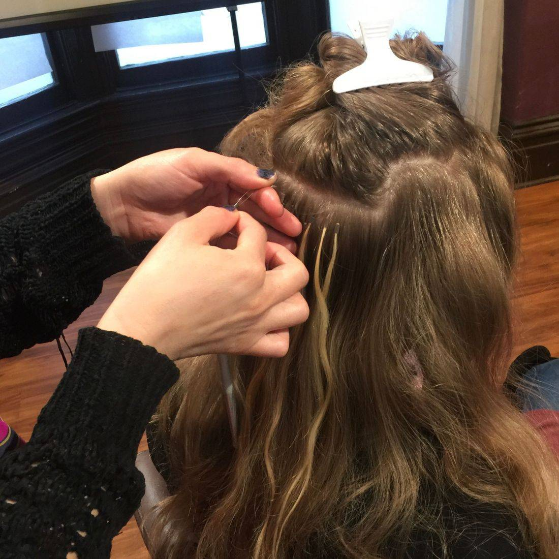 Milvali Microlink Beaded I-tip extensions class