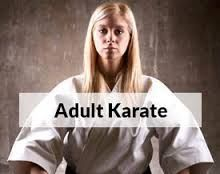 Adult karate self-defense and fitness classes for adults