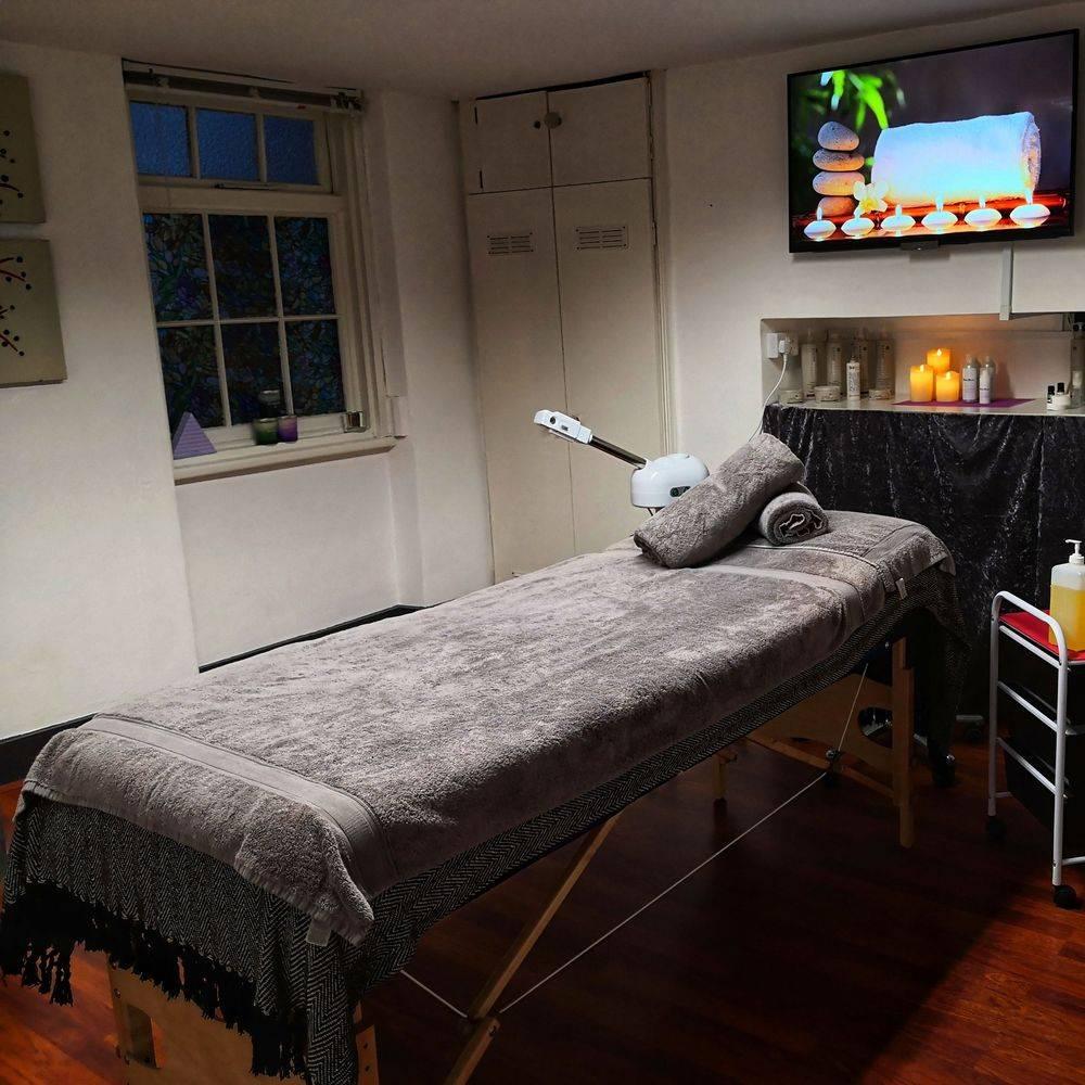 The Facial Studio Brighton treatment room left in light