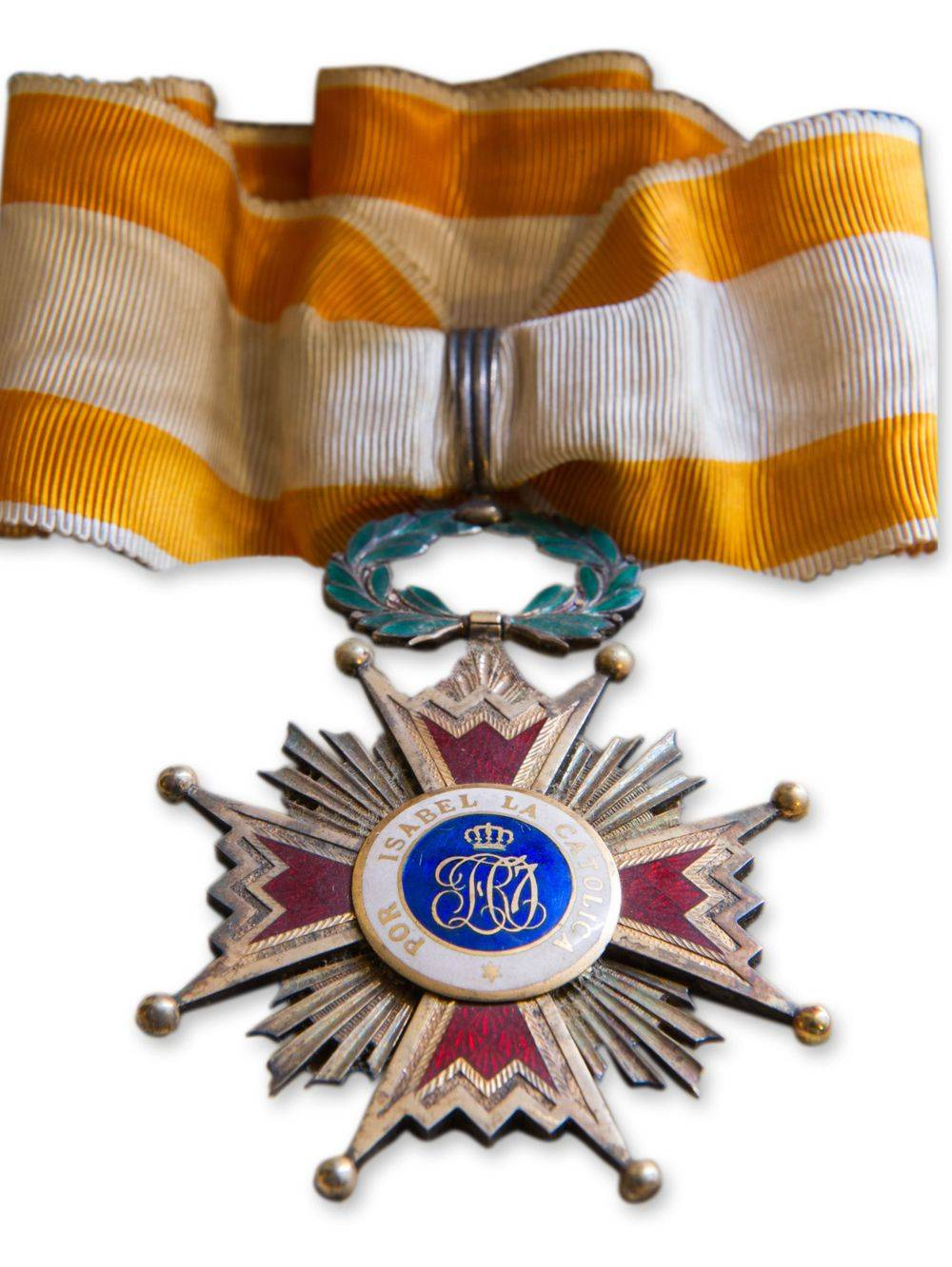 Medal from Queen Cristina Maria