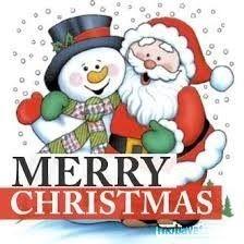 Father Christmas & Snowman
