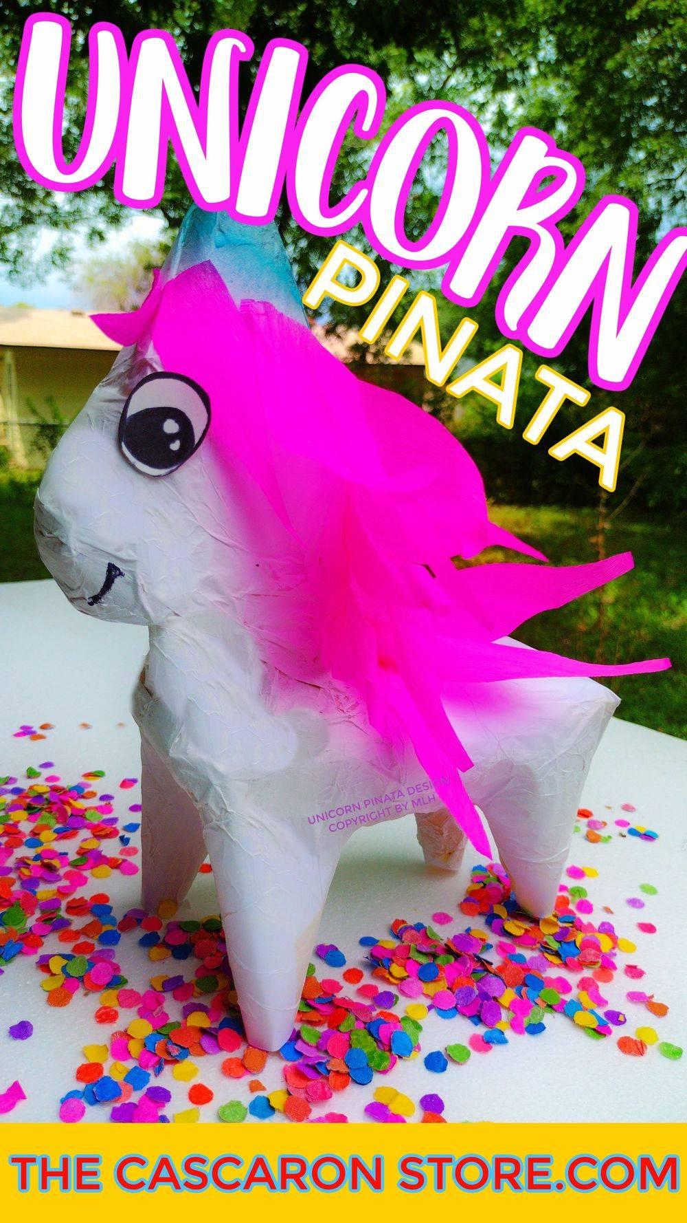 unicorn piñata birthday party decorations