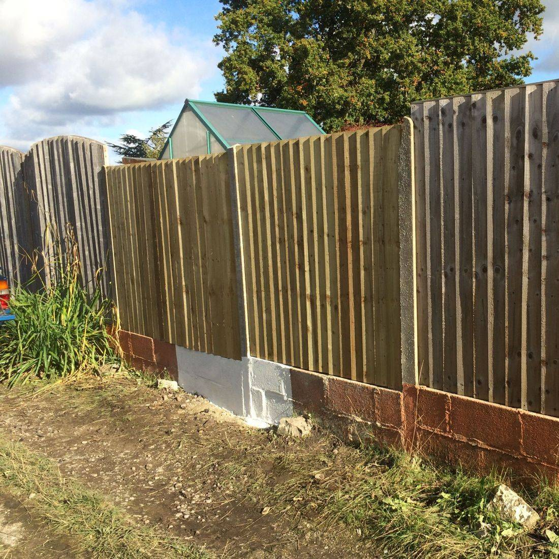 block lain fence repair hand made wow best young