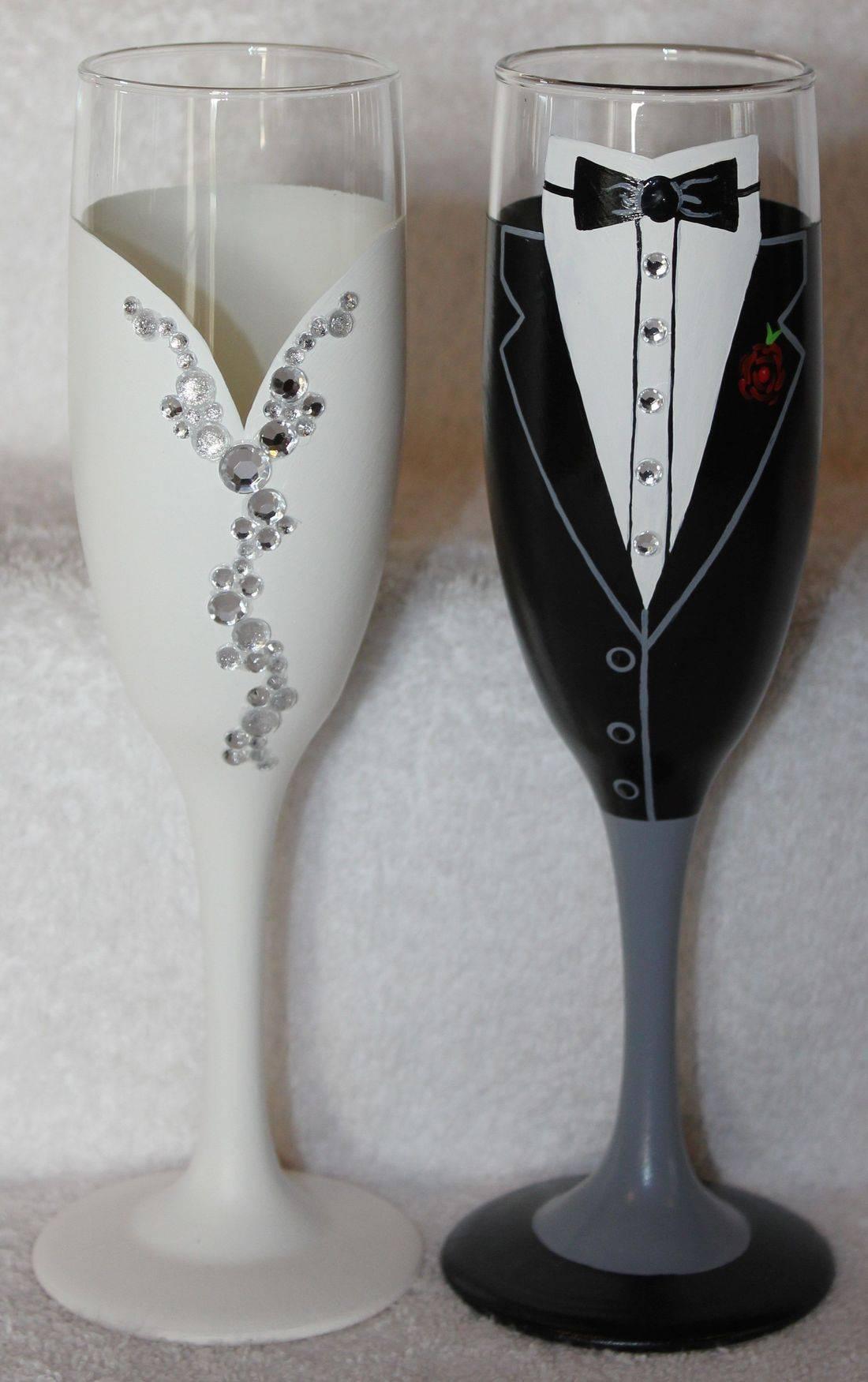bride flute, bride champagne, groom flute, groom champagne