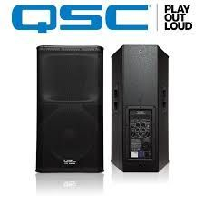For Rent QSC KW152 15 inch Powered Speakers