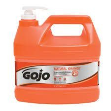Gojo Orange Hand Cleaner Pumice with Pump 4L