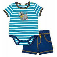LeTop Infant Boys Puppy  Short set