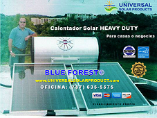 Calentadores Solares Heavy Duty