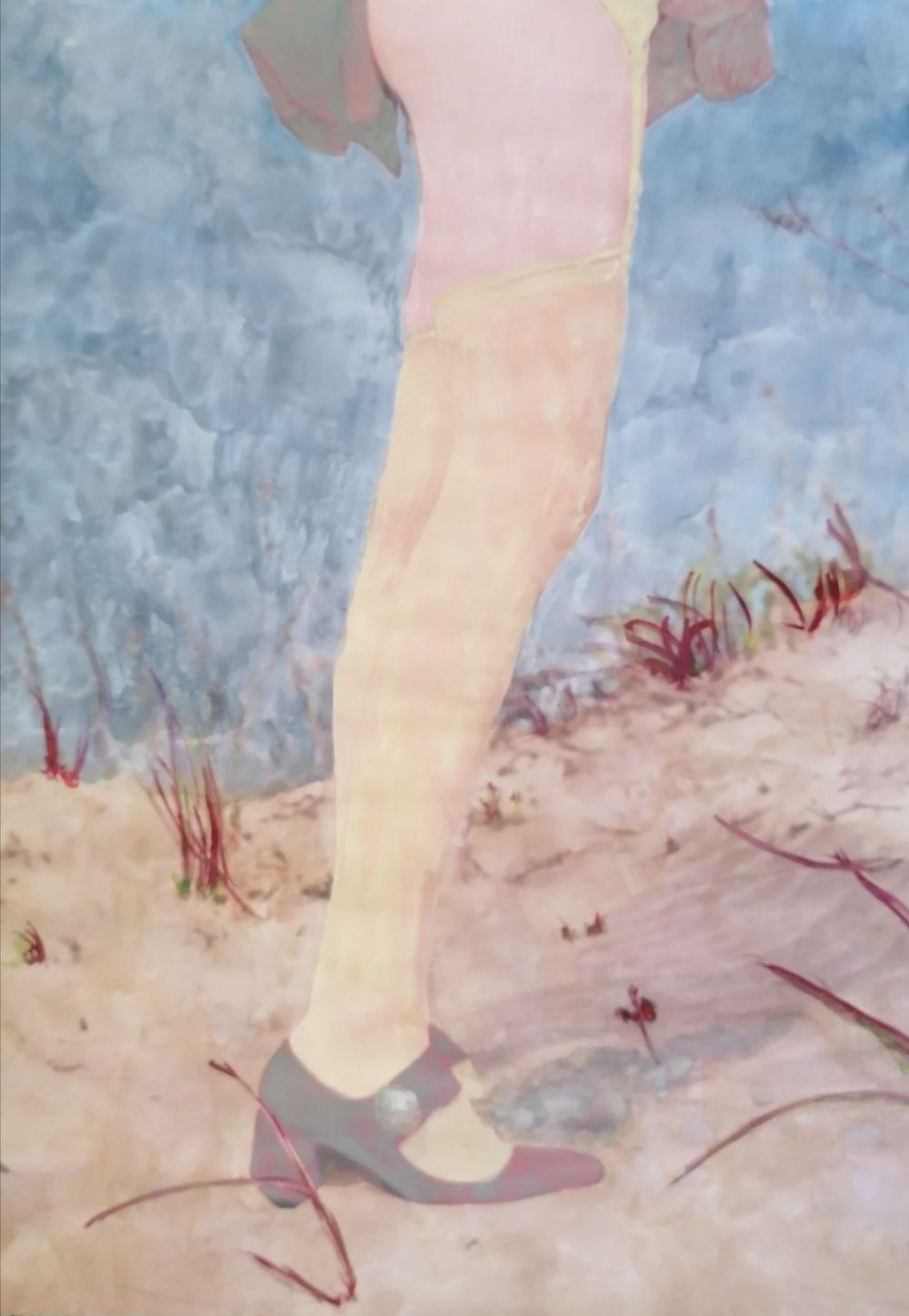 Aquarelle, Acrylique, Bleu, Mer, Histoire de l'art, Portrait, Femme
